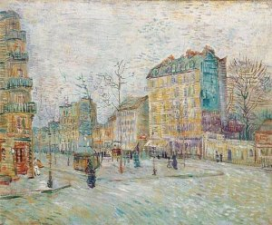 Boulevard de Clichy by Van Gogh, Taken From Vangoghreproduction.com