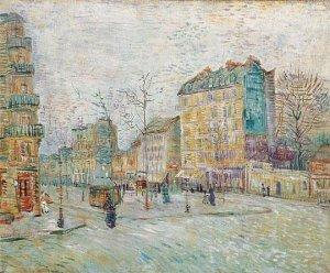 Boulevard de Clichy by Van Gogh, Taken From Vangoghreproduction.com