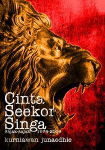 Cover buku Cinta Seekor Singa