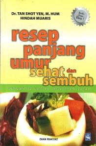 Cover Buku Resep Panjang Umur Sehat dan Sembuh
